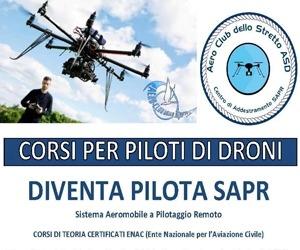 Aero Club dello Stretto - Corso Pilota Drone