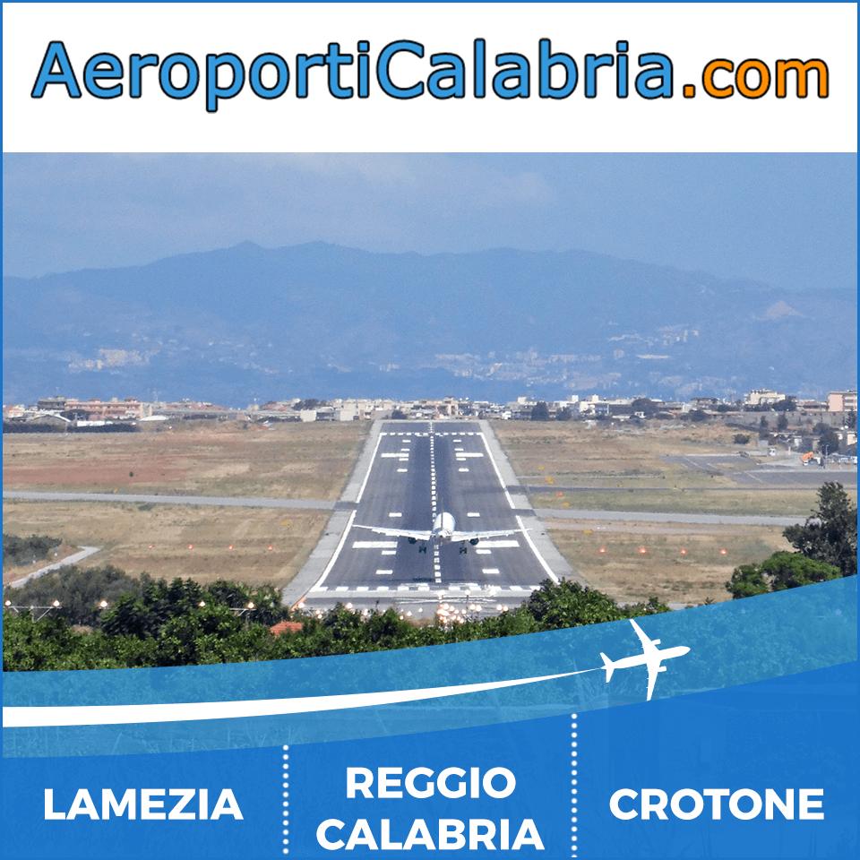 Info ed offerte per il passeggero che vola da Lamezia, Reggio Calabria e Crotone